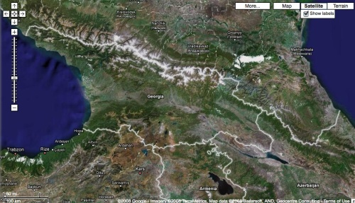 Republic of Georgia and Google Maps | Jason Schaeffer