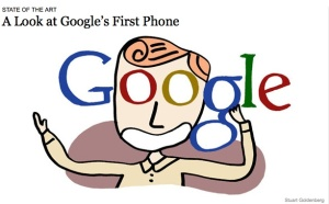 NYT Rendering of a Google mobile enthusiast!