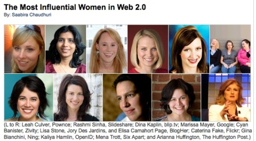 Fast Company Women of the Web