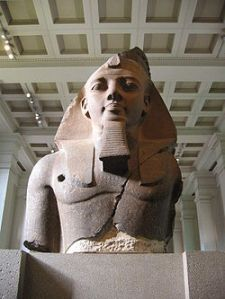 Colossal Bust of Ramesses II